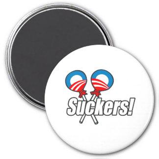 ¡Lechones de Obama! Imán Redondo 7 Cm
