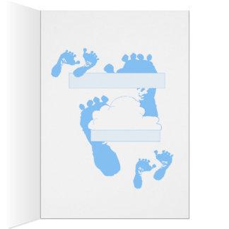 Lechones para un bebé tarjeta pequeña