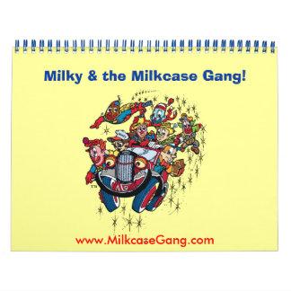 ¡Lechoso y la cuadrilla de Milkcase! Calendario