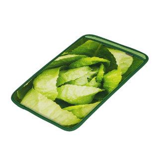 Lechuga - textura de las hojas del verde funda  MacBook