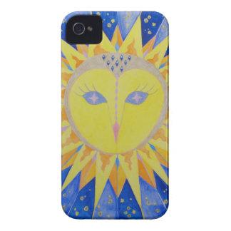 Lechuza Sunowl Case-Mate iPhone 4 Cárcasas