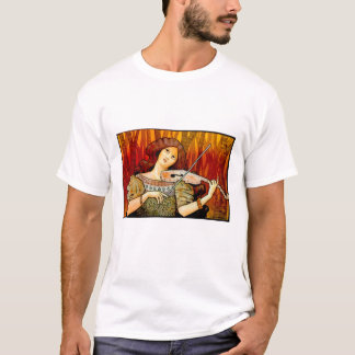 Lecons Music Violin Vintage Poster T-Shirt