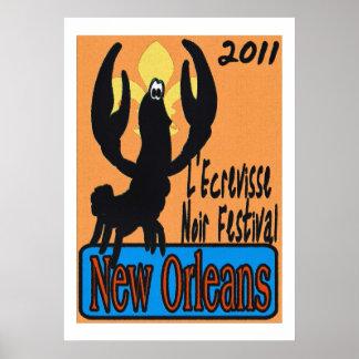 L'écrevisse New Orleans Noir 2011 Póster