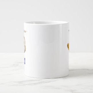 Lector de la primera clase taza grande
