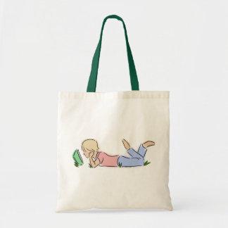 Lector en hierba bolsa