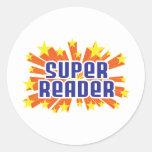 Lector estupendo etiquetas