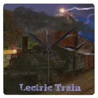 Lectric Train Clock