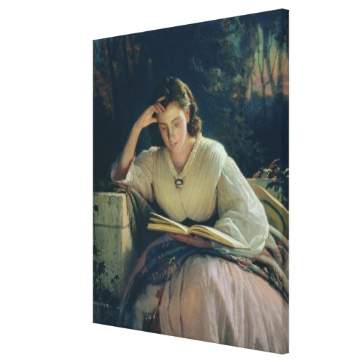 Lectura, 1863 impresiones de lienzo