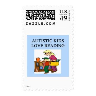 lectura autística del amor de los niños franqueo