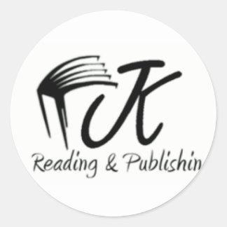Lectura de Jk Pegatina Redonda