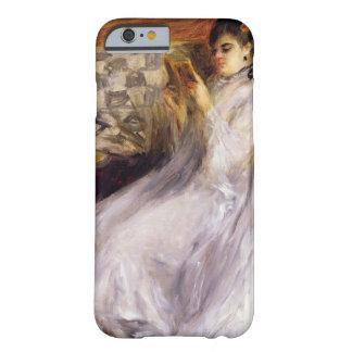 Lectura de la mujer joven, c.1873 (aceite en lona) funda de iPhone 6 barely there