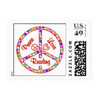 Lectura del amor de la paz sello