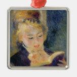 Lectura del chica, 1874 ornamento para arbol de navidad