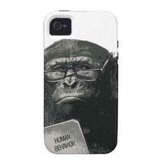 Lectura del chimpancé iPhone 4/4S carcasa