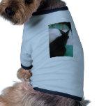 Lectura del conejito camisas de mascota
