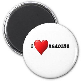 Lectura del corazón I Imán Redondo 5 Cm