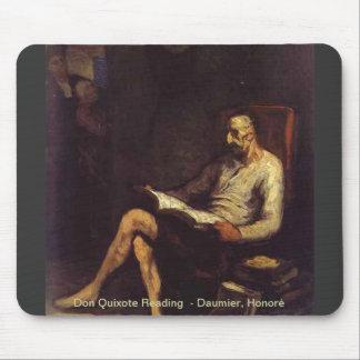 Lectura del Don Quijote Tapetes De Ratón