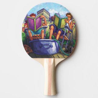 Lectura del verano pala de tenis de mesa