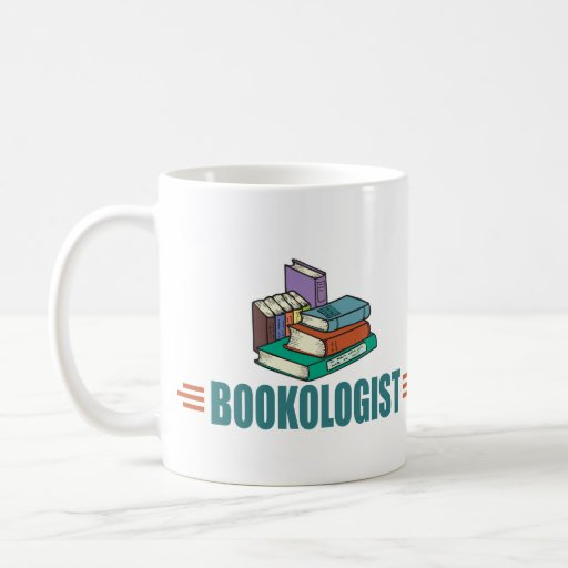Lectura divertida taza básica blanca