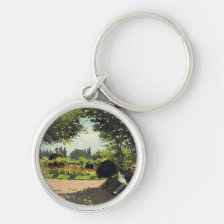 Lectura en el jardín - Claude Monet de Adolfo Llavero Redondo Plateado
