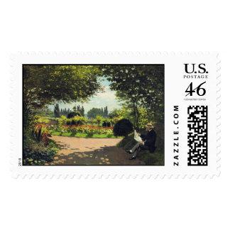 Lectura en el jardín - Claude Monet de Adolfo Mone