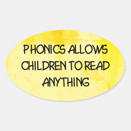 Lectura fonética etiqueta