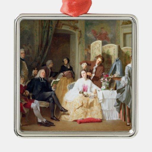 """Lectura """"Manon Lescaut"""" de Prevost del Abbe, 1856 Adornos"""