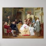 """Lectura """"Manon Lescaut"""" de Prevost del Abbe, 1856 Posters"""