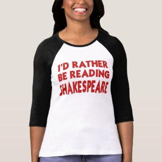 Lectura Shakespeare Playera