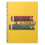 Lectura y escritura y aritmética libretas espirales