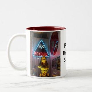 Lecturas psíquicas 5 centavos tazas de café
