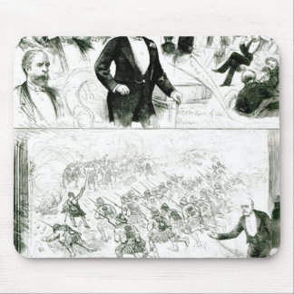 Lecture on the Egyptian War, 1883 Mouse Pad