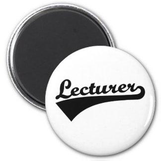 Lecturer 2 Inch Round Magnet