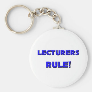 Lecturers Rule Key Chains