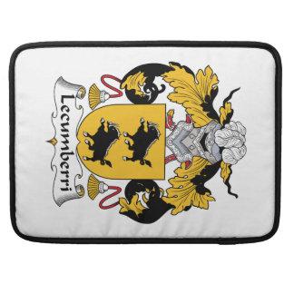 Lecumberri Family Crest MacBook Pro Sleeve