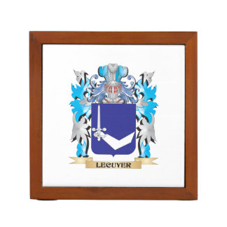 Lecuyer Coat of Arms - Family Crest Pencil/Pen Holder