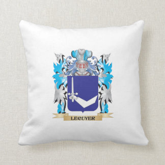 Lecuyer Coat of Arms - Family Crest Pillows