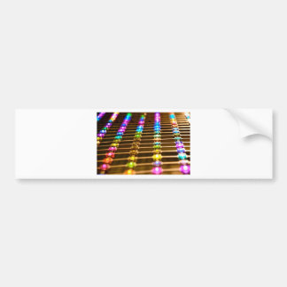 LED Abstraction Bumper Sticker