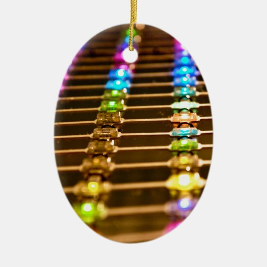 LED Abstraction Ceramic Ornament