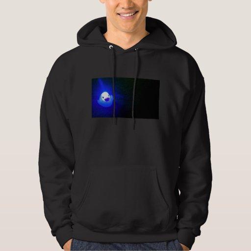 LED azul Duckie Sudadera