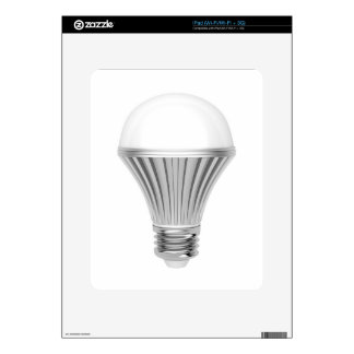 LED bulb Decals For The iPad