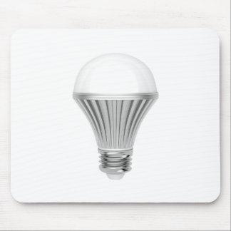 LED bulb Mouse Pad