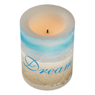 LED Candle/Dream Beach Flameless Candle