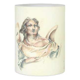 LED candle with 'Classic Angel' image