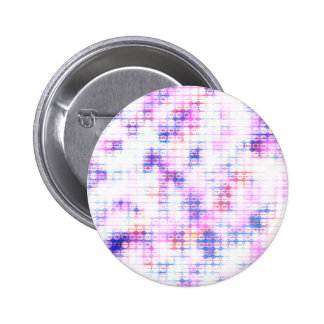 LED Glow Print 2 Inch Round Button