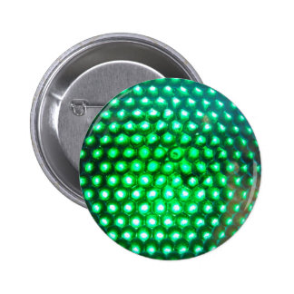 LED-green-lights948 DISCO BALL GREEN NEON LIGHTS F 2 Inch Round Button