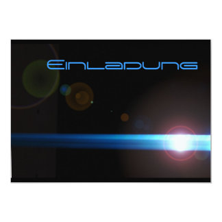 LED lens effect Card