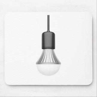 LED light bulb Mouse Pad
