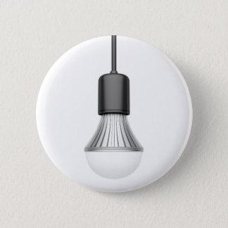 LED light bulb Pinback Button
