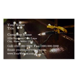 LED Light String Business Card Template